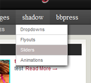 Dropdown shadow as seen in Revolution Generated
