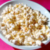 Potassium chloride seasoned popcorn